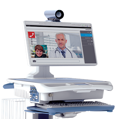 Image result for Telemedicine Carts & Systems