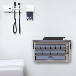 Wall-Mounted Secure Rx Exchange Cassette