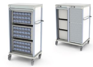 AccessRx Exchange Medication Transfer Carts
