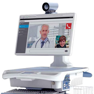 AccessPoint Telehealth monitor and camera