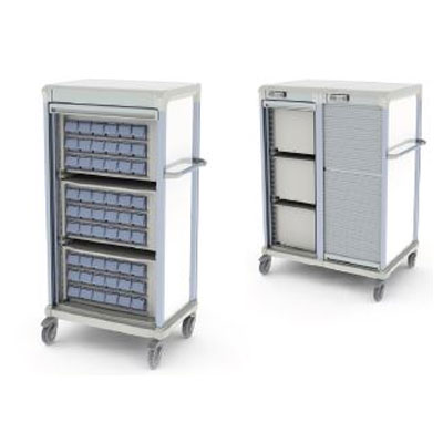 AccessRx Exchange Transfer Carts Medication Dispensing
