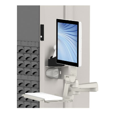 medDispense automated dispensing cabinets M series monitor display mount