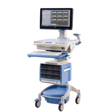 AccessRx Secure Medication Workstation on Wheels